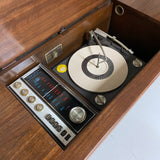 **SOLD OUT**  ADMIRAL Stereo Console 60s Vintage Record Player AM FM Bluetooth Alexa