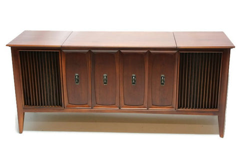 **SOLD OUT** ZENITH Mid Century Record Player Changer Stereo Console