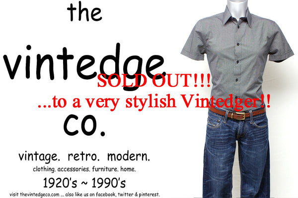 SOLD - Vintage Mens Express Shirt