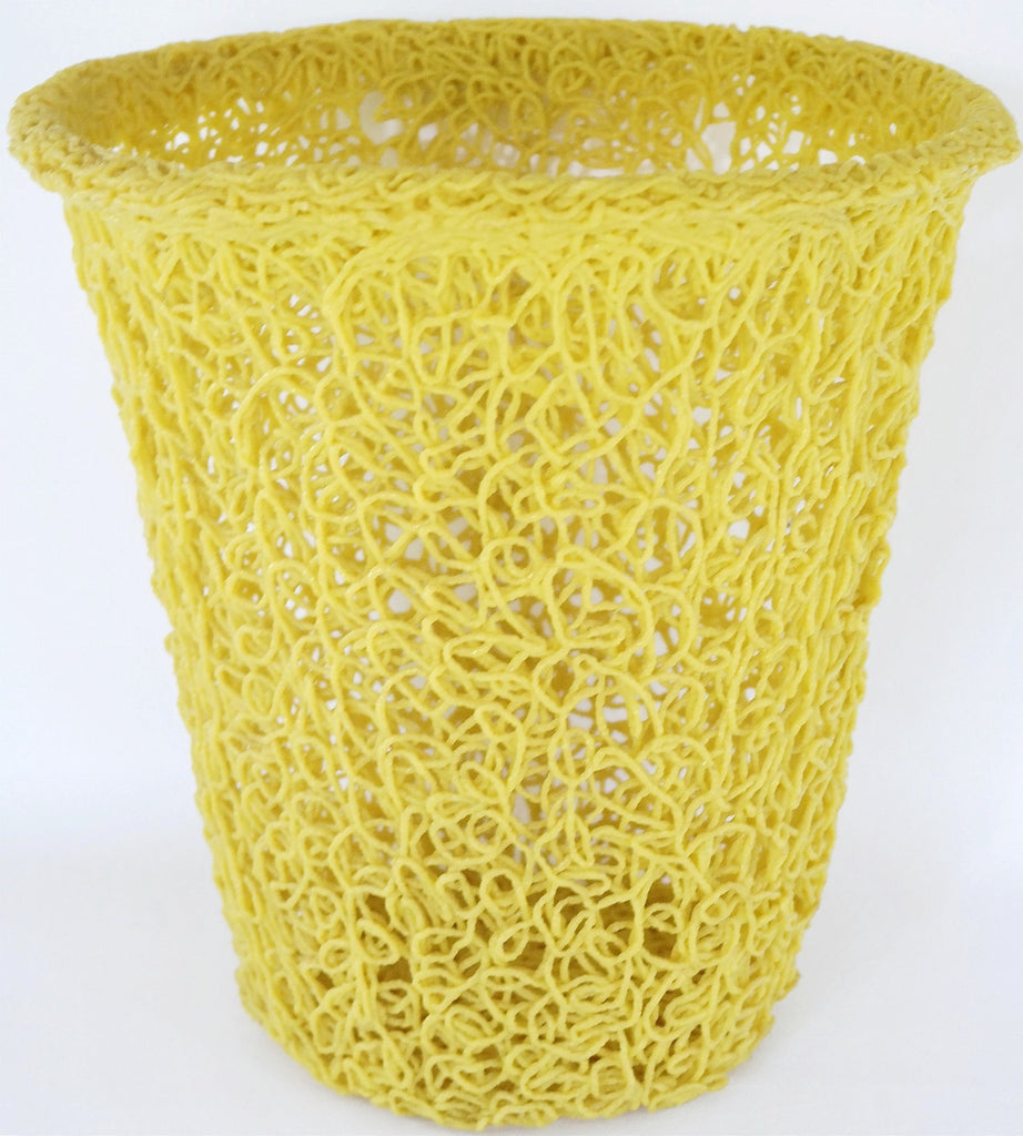 Vintage Auction | Mod 60's Spaghetti Waste Basket Can
