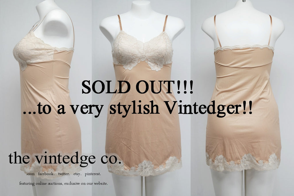 SOLD - Vintage Vanity Fair Nude