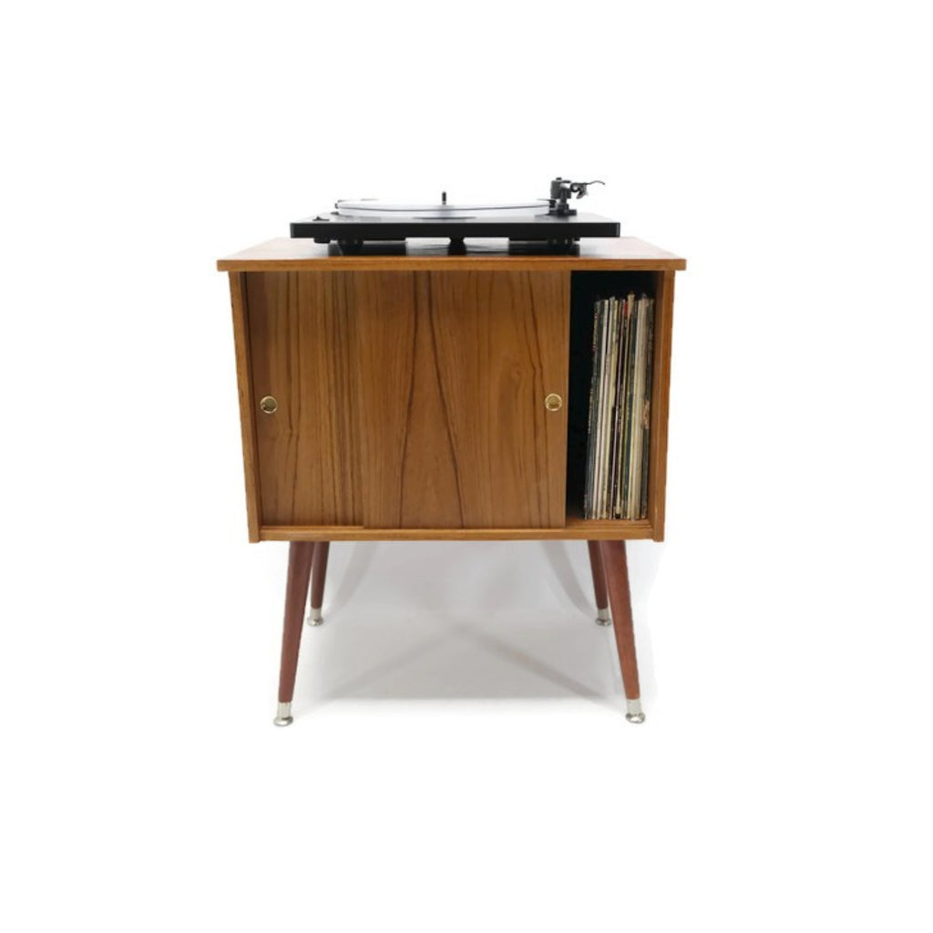 Sold Out The Vintedge Co Retro Record Player Stand Lp Storage Cab