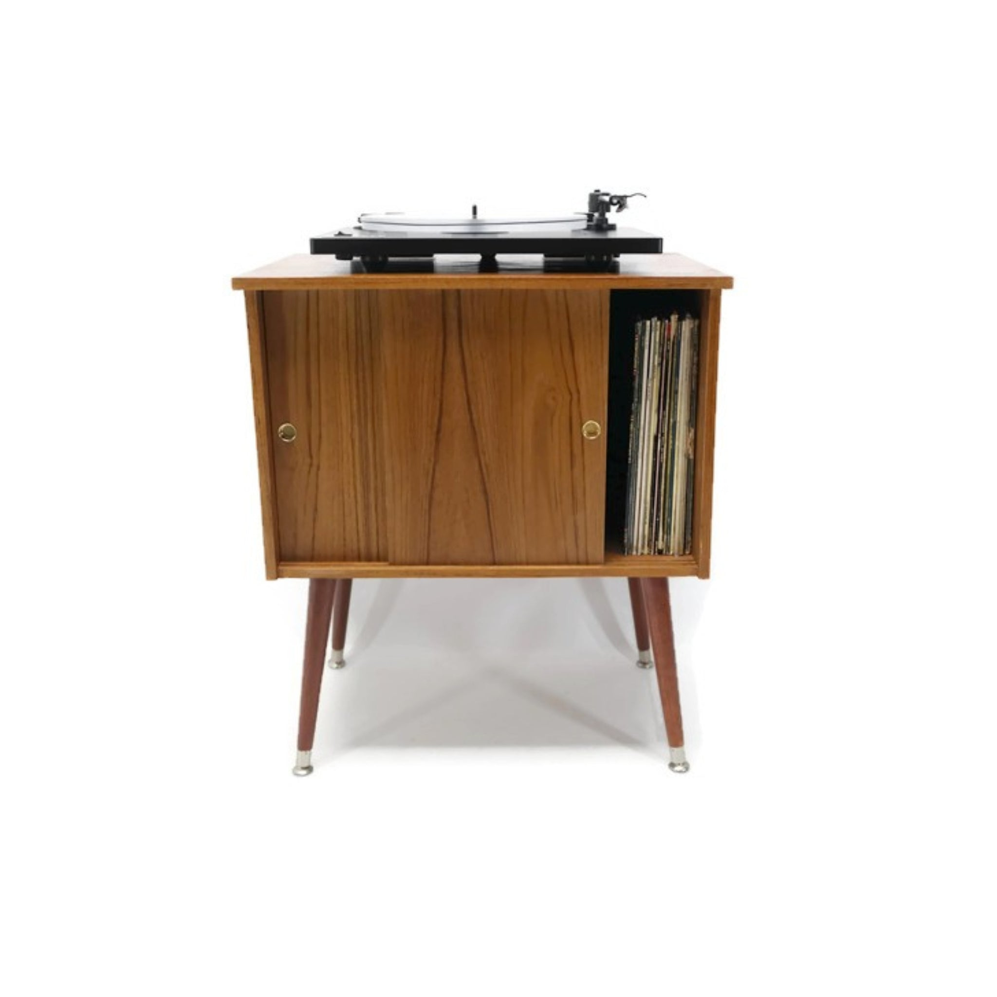 Ordinaire **SOLD OUT** The Vintedge Co™ Retro Record Player Stand LP Storage