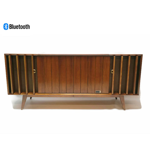 **SOLD OUT** 60s ZENITH DELUXE Louver Door HYBRID Record Player Changer Stereo Console