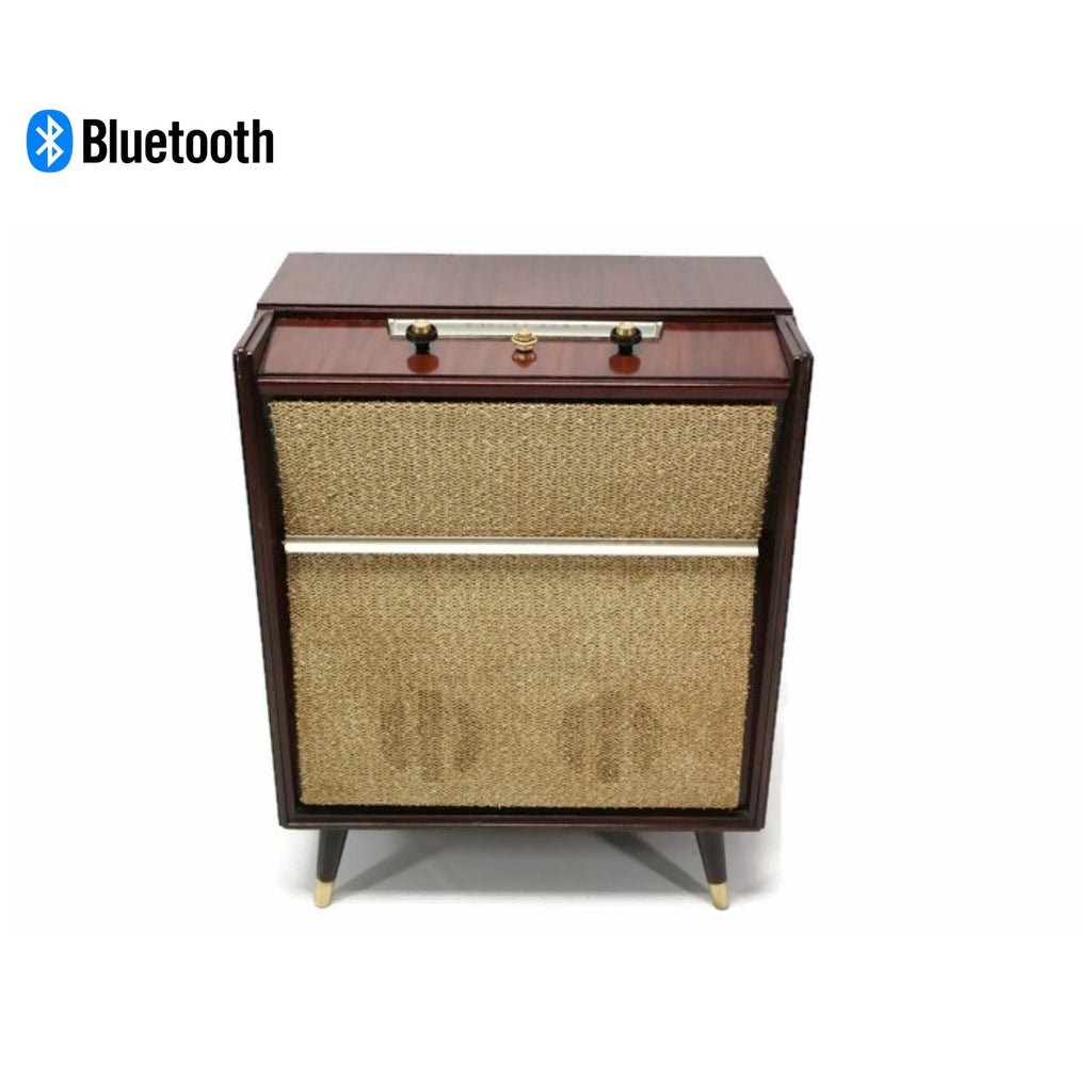 **SOLD OUT** SILVERTONE 50's Mid Century Record Player Changer High Fidelity Console