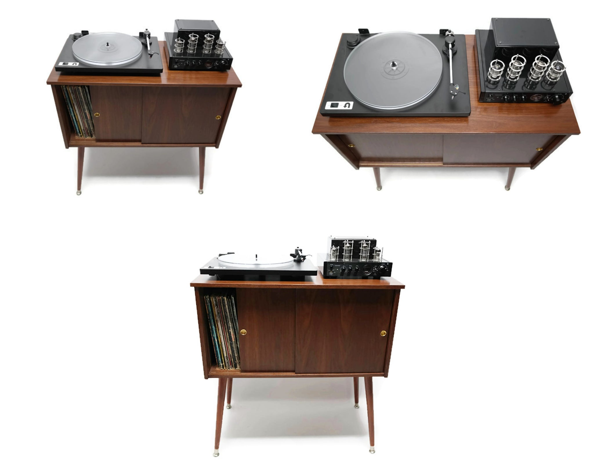 Bon **SOLD OUT** The Vintedge Co™ Mid Century Retro Record Player Stand