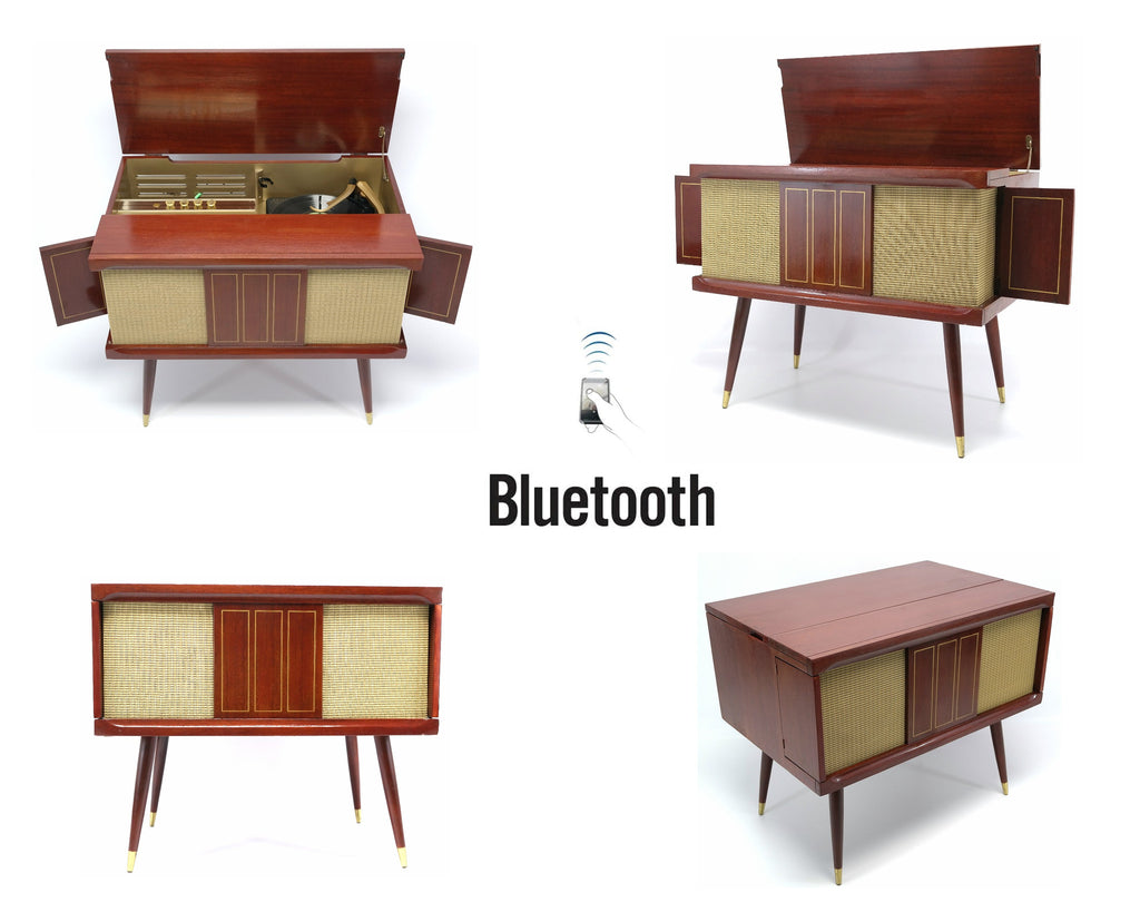 MCM STEREO - 50's - Mid Century Philico Record Player - Bluetooth iPod iPhone Android