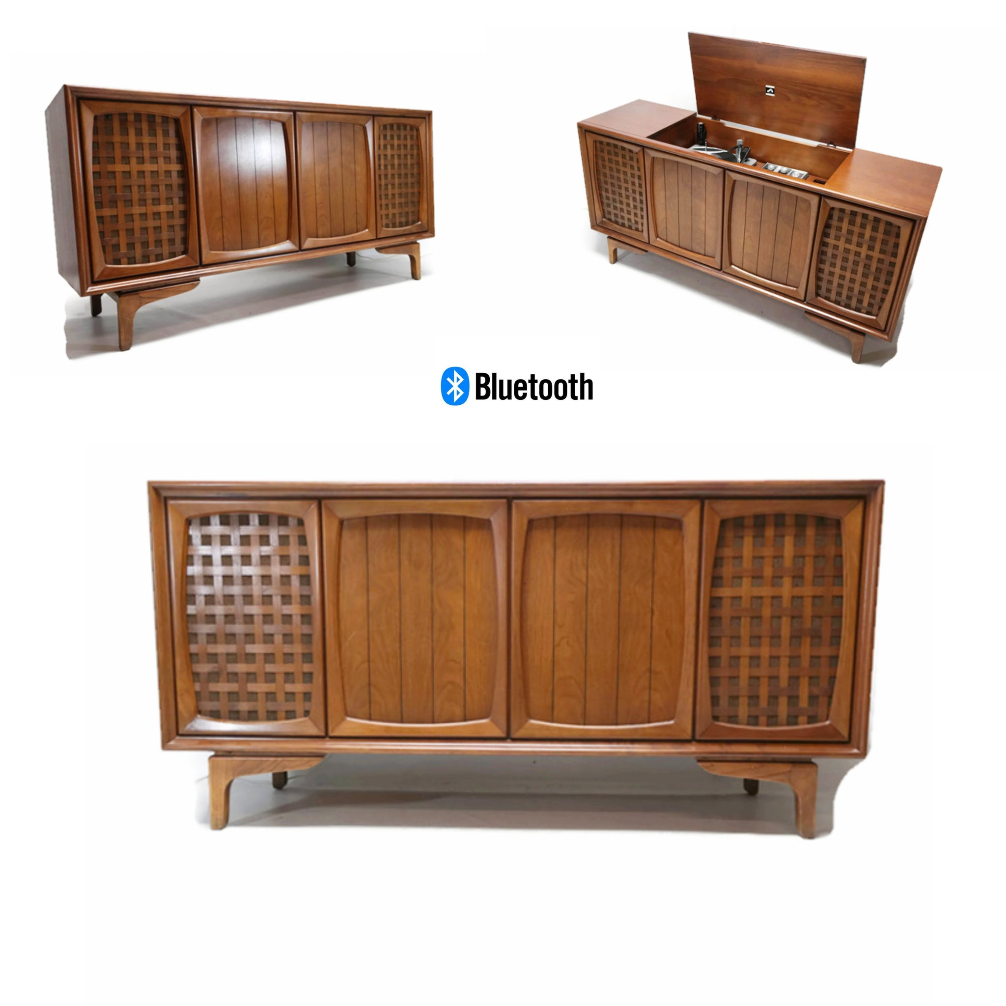 Sold Out Rca Victor Victrola Mid Century Modern Stereo Console