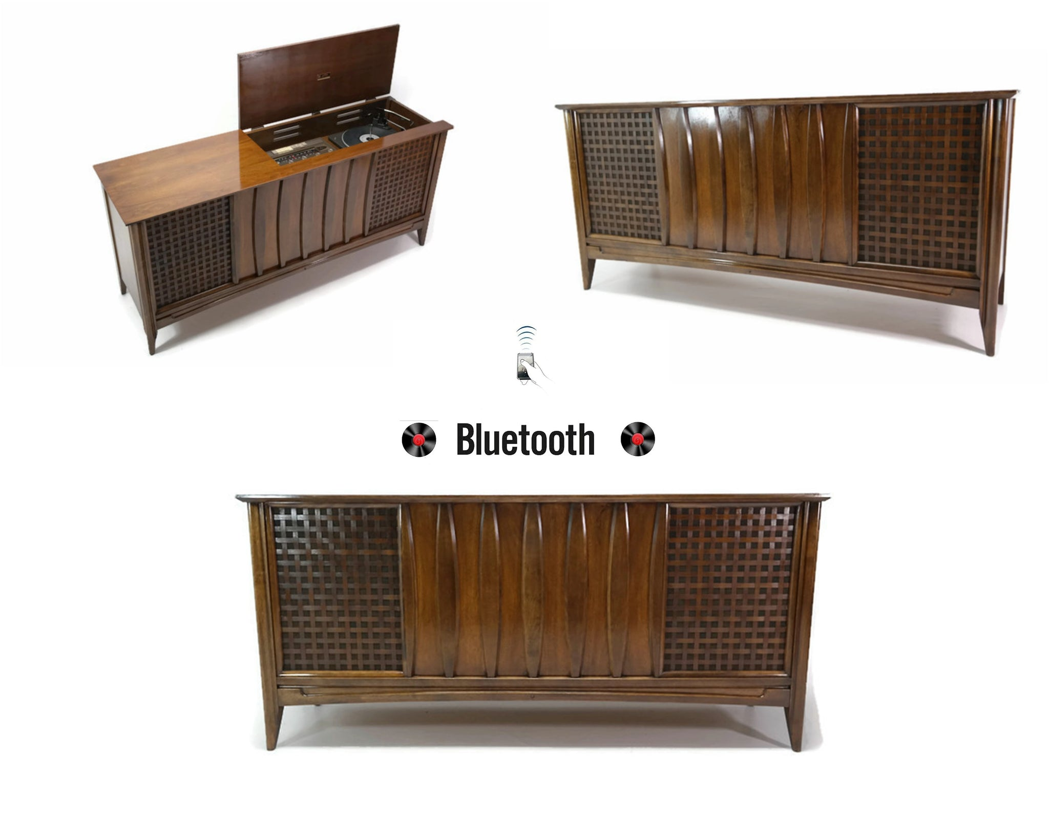 **SOLD OUT** DuMONT Mid Century Vintage Record Player Changer Stereo Console