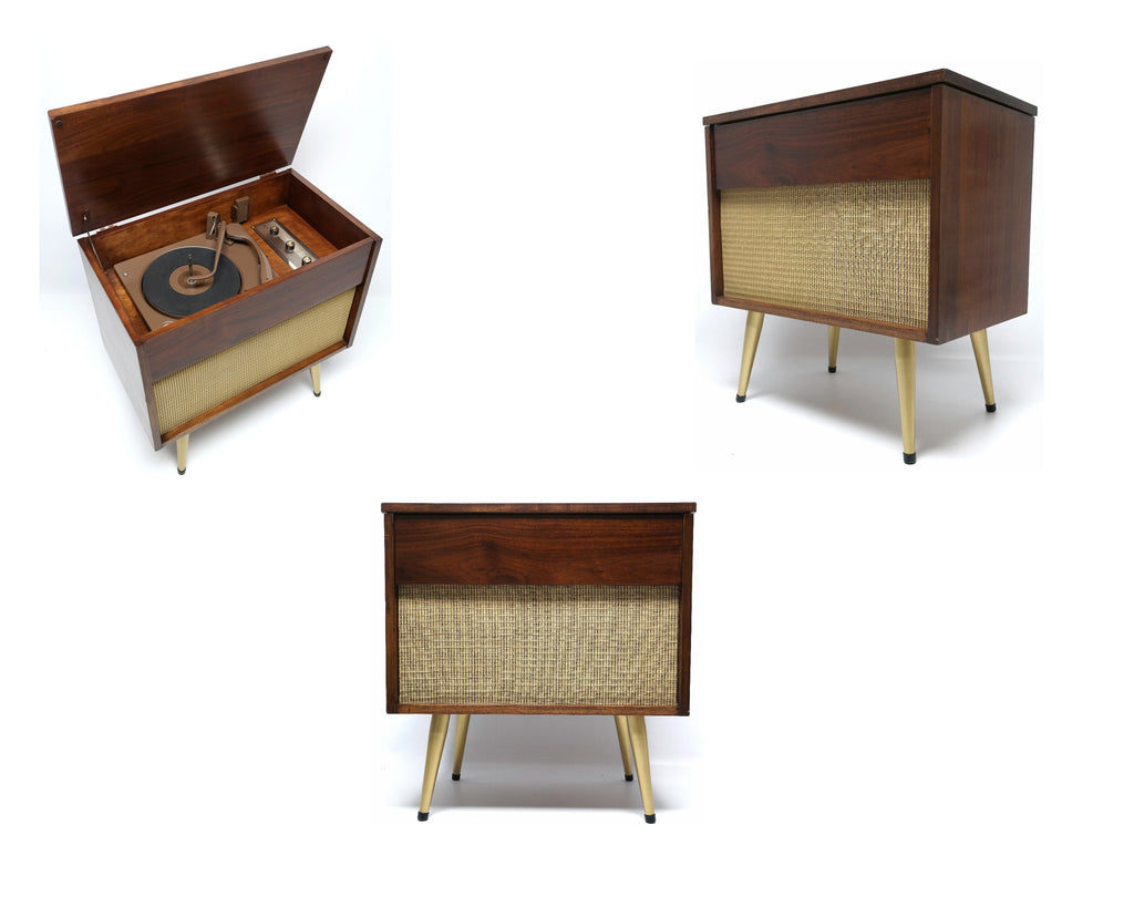 MCM  - ARVIN - Mid Century low Boy Consolette Record Player