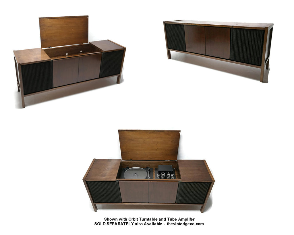 **SOLD OUT** VintedgeCo™ - TURNTABLE READY SERIES™ - Philco Console Cabinet & Speakers - UPGRADE Components AVAILABLE