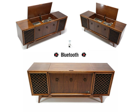 **SOLD OUT** ZENITH Mid Century Vintage Record Player Changer Stereo Console