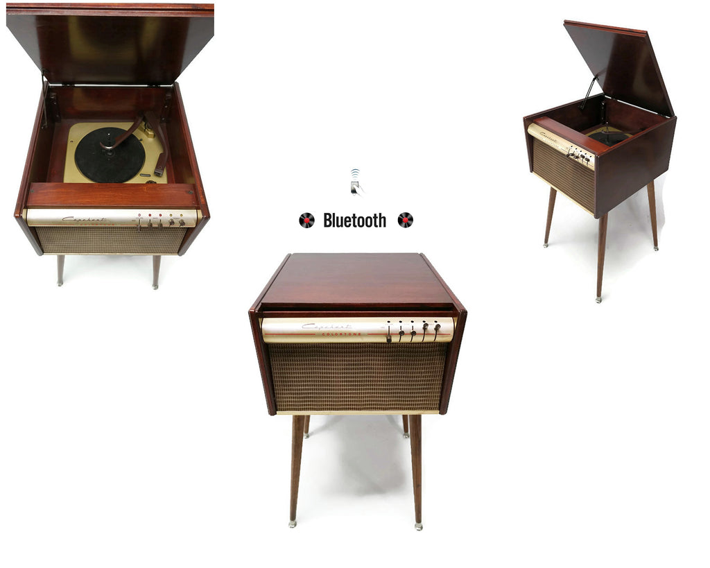 **NOW AVAILABLE**  CAPEHEART 50's Mid Century Record Player Changer High Fidelity Console