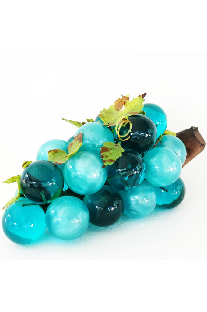 SOLD | 60's Lucite Blue Green Grape Cluster