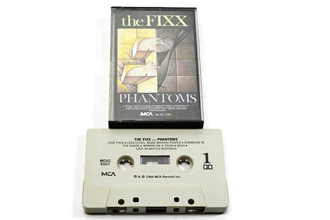 THE FIXX - Vintage Cassette Tape - PHANTOMS
