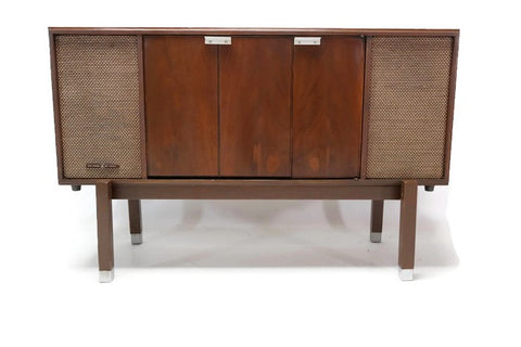 **SOLD OUT** VOICE OF MUSIC 60's Record Player Changer Stereo Console Wall Mount Console Stand Cabinet - Bluetooth