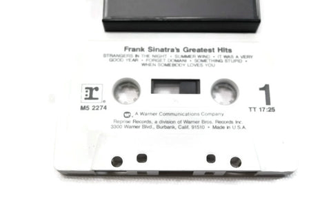 FRANK SINATRA - Vintage Cassette Tape - GREATEST HITS VOL. 1