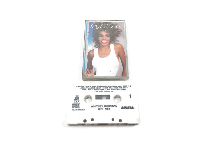 WHITNEY HOUSTON - Vintage Cassette Tape - WHITNEY