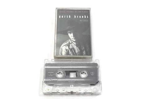 GARTH BROOKS - Vintage Cassette Tape - NO FENCES