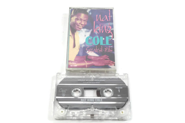 NAT KING COLE - Vintage Cassette Tape - GREATEST HITS