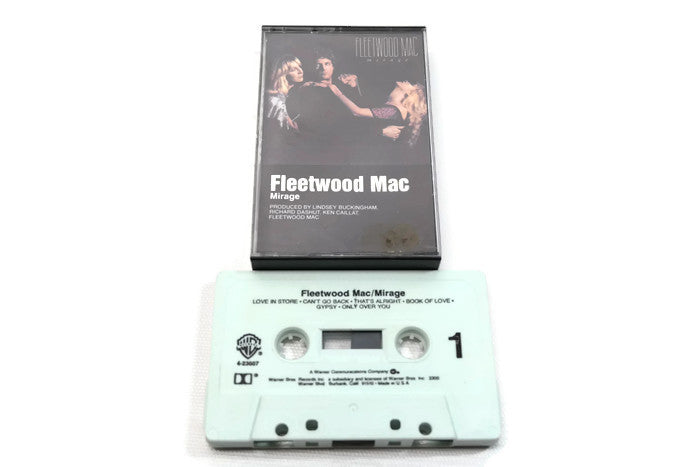 FLEETWOOD MAC - Vintage Cassette Tape - MIRAGE