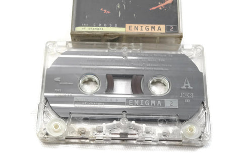ENIGMA 2 - Vintage Cassette Tape - THE CROSS OF CHANGES