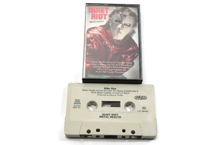 QUIET RIOT - Vintage Cassette Tape - METAL HEALTH