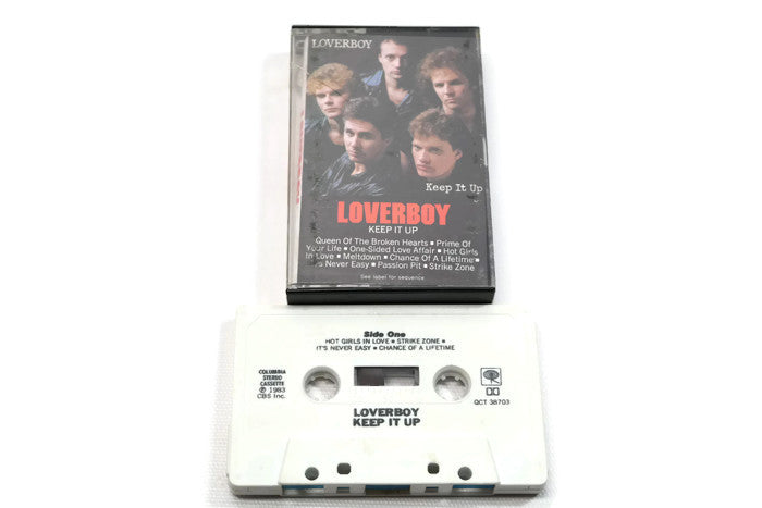 LOVERBOY - Vintage Cassette Tape - KEEP IT UP