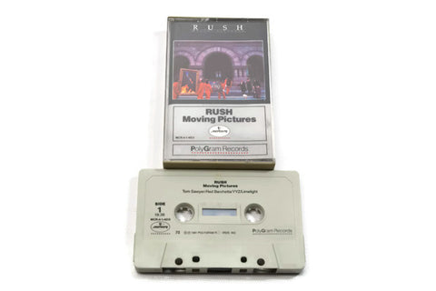 RUSH - Vintage Cassette Tape - MOVING PICTURES