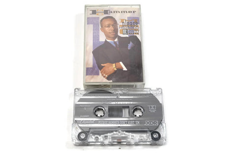 MC HAMMER - Vintage Cassette Tape - PLEASE DONT HURT EM