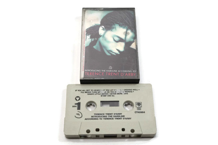 TERENCE TRENT D'ARBY - Vintage Cassette Tape - INTRODUCING THE HARD LINE...