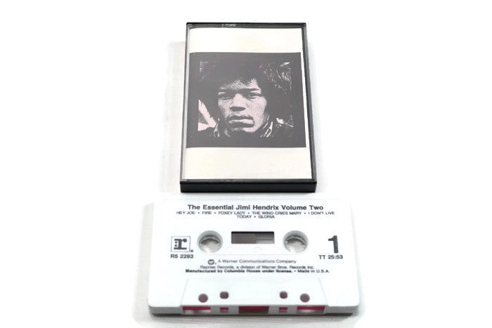 JIMI HENDRIX - Vintage Cassette Tape - THE ESSENTIAL JIMI HENDRIX VOLUME 2