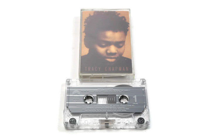 TRACY CHAPMAN - Vintage Cassette Tape - TRACY CHAPMAN