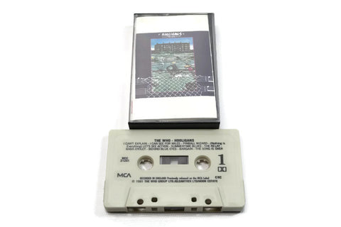 THE WHO - Vintage Cassette Tape - HOOLIGAN
