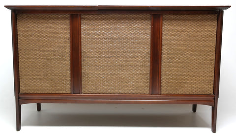 Mid Century Admiral Stereo Console Record Player - Bluetooth - AM/FM Tuner - Record Changer