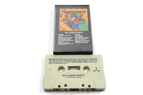VARIOUS ARTISTS - Vintage Cassette Tape - 50'S DANCE PARTY