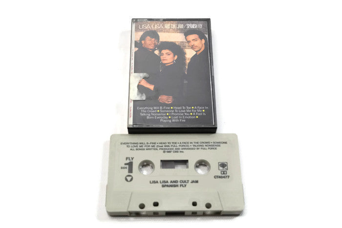 LISA LISA & CULT JAM - Vintage Cassette Tape - SPANISH FLY