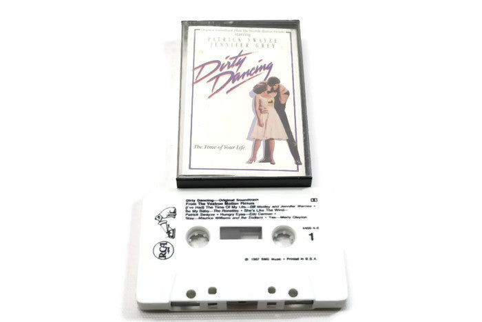 DIRTY DANCING - Vintage Cassette Tape - ORIGINAL MOTION PICTURE SOUNDTRACK