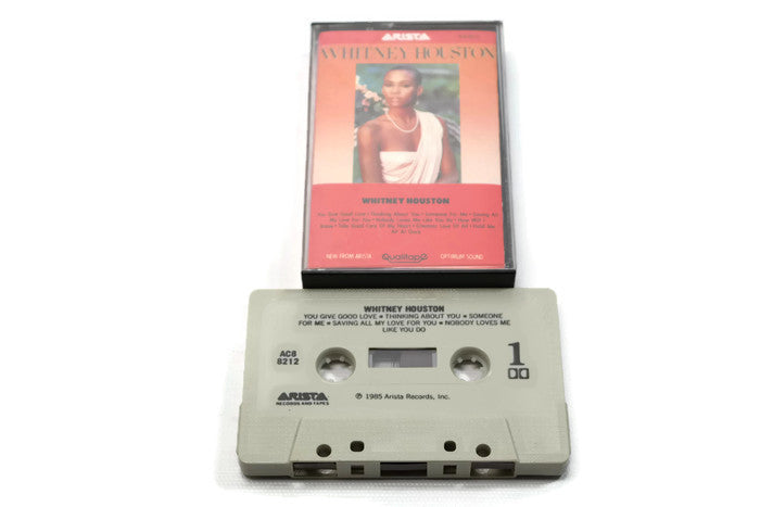 WHITNEY HOUSTON - Vintage Cassette Tape - WHITNEY HOUSTON