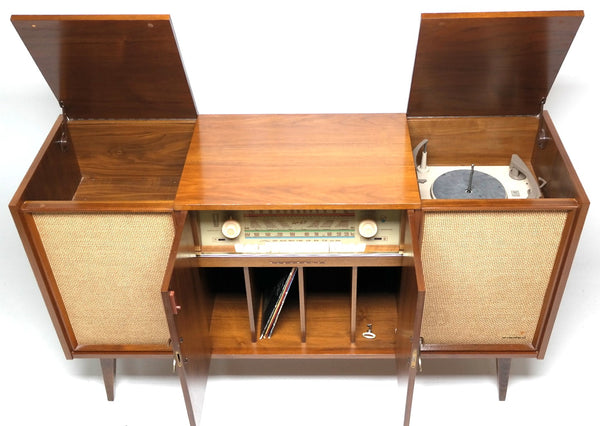 Stereo Console 60 S Mid Century Philco Record Player The