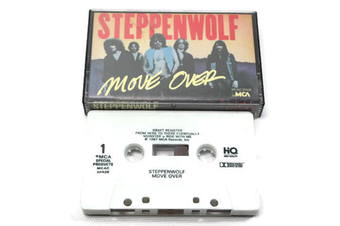 STEPPENWOLF - Vintage Cassette Tape - MOVE OVER