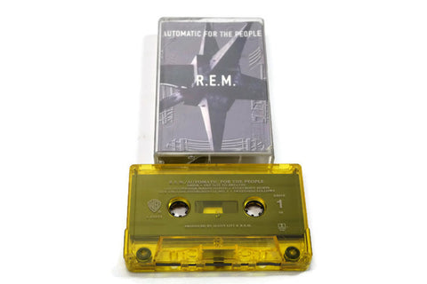 REM - Vintage Cassette Tape - AUTOMATIC FOR THE PEOPLE