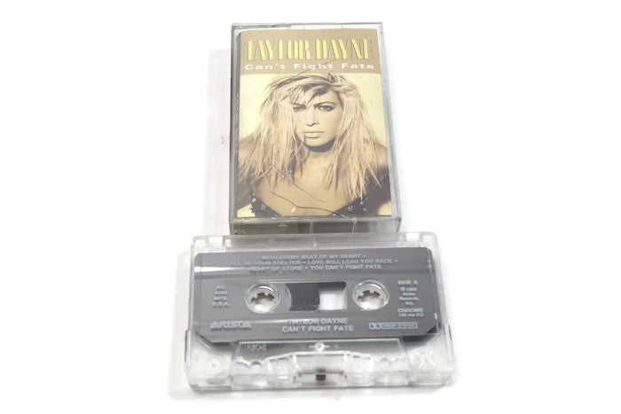 TAYLOR DAYNE - Vintage Cassette Tape - CAN'T FIGHT FATE