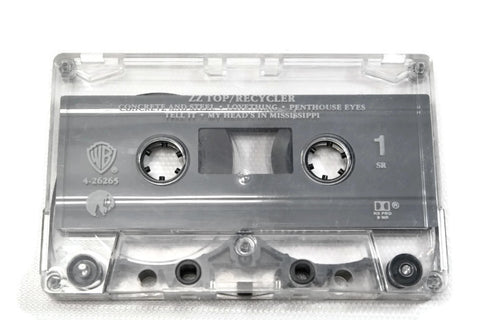 ZZ TOP - Vintage Cassette Tape - RECYCLER
