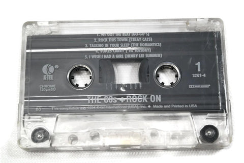 The 80s + - Vintage Cassette Tape - ROCK ON