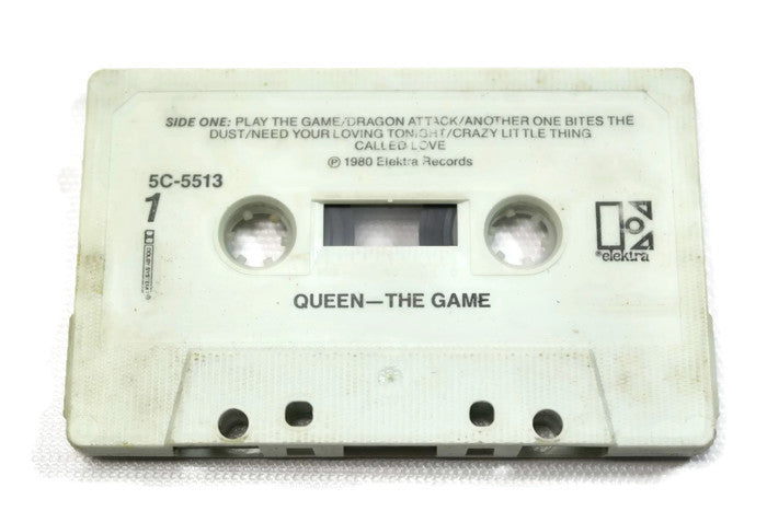 QUEEN - Vintage Cassette Tape - THE GAME