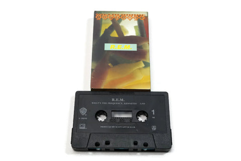 REM - Vintage Cassette Tape - WHAT'S THE FREQUENCY, KENNETH?