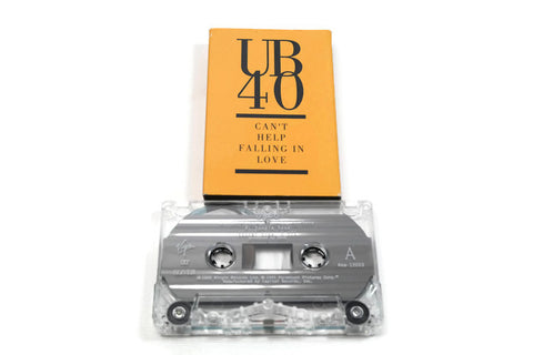 UB40 - Vintage Cassette Tape - CAN'T HELP FALLING IN LOVE WITH YOU