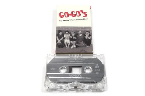 THE GO GO'S - Vintage Cassette Tape - THE WHOLE WORLD LOST IT'S HEAD