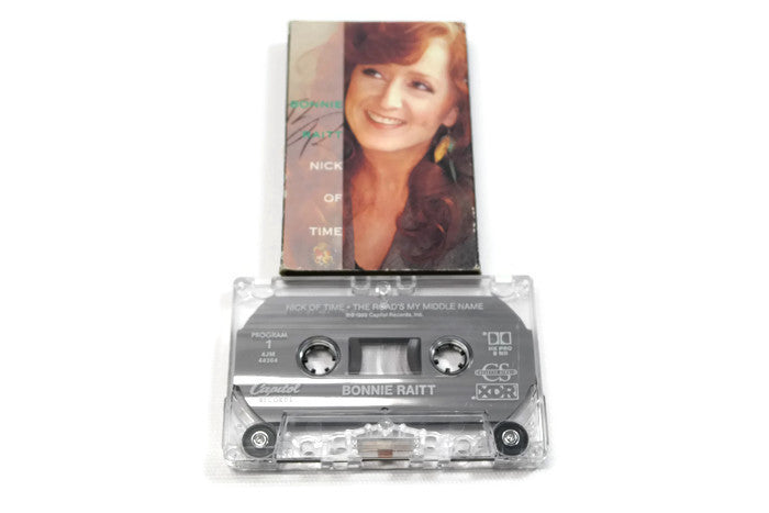 BONNIE RAITT - Vintage Cassette Tape - NICK OF TIME
